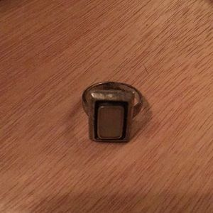 Mother of pearl ring / silver